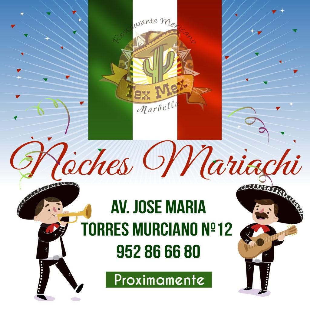 Noches mariachi Proximamente